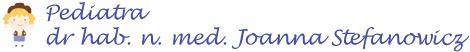 Pediatra Trójmiasto – dr hab. n. med. Joanna Stefanowicz